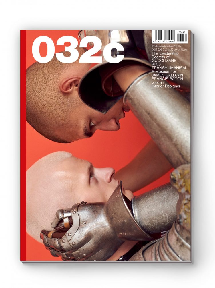 032c Magazine - Issue #35, Winter 2018/19 Cover 03