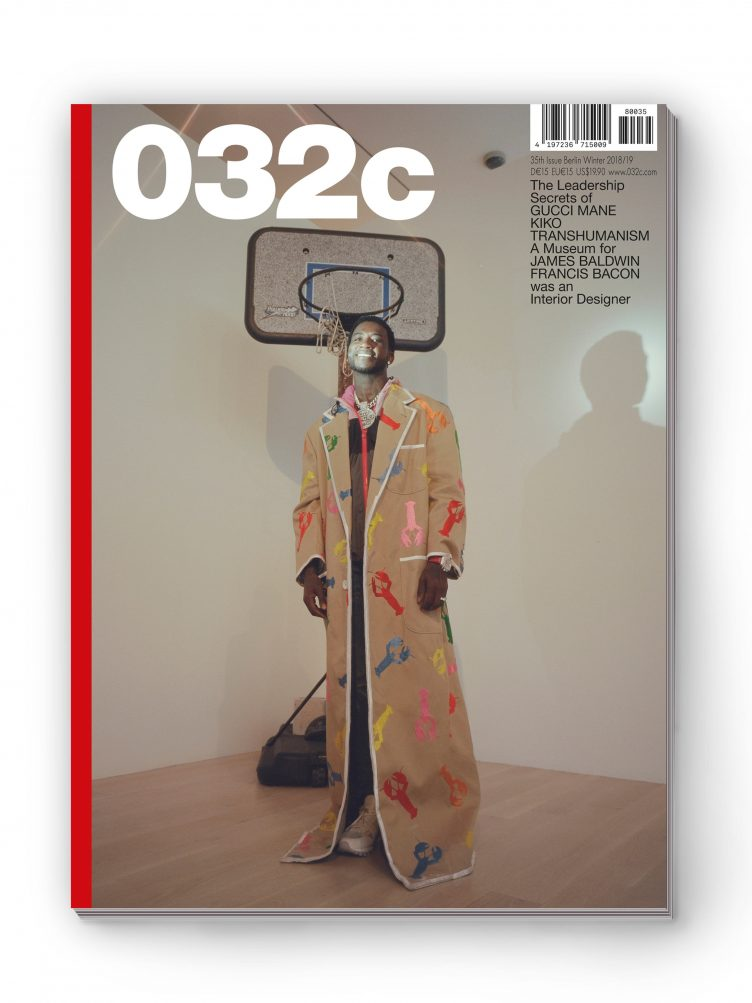 032c Magazine - Issue #35, Winter 2018/19 Cover 02