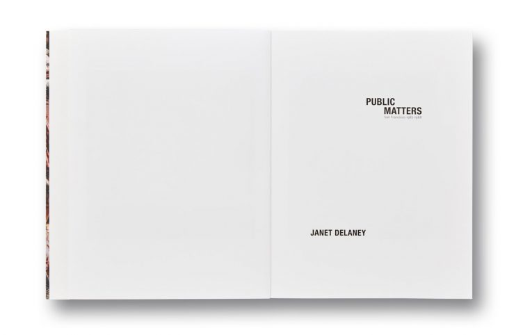 Public Matters by Janet Delaney, Mack Books 003