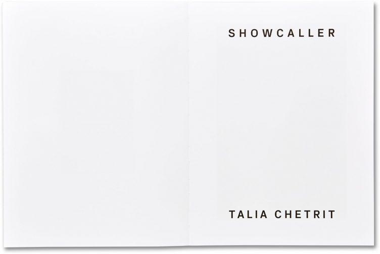 Showcaller - Talia Chetrit Spread 004