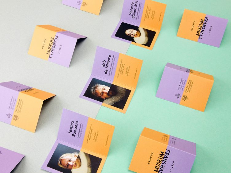 Frans Hals Museum Identity Business Cards