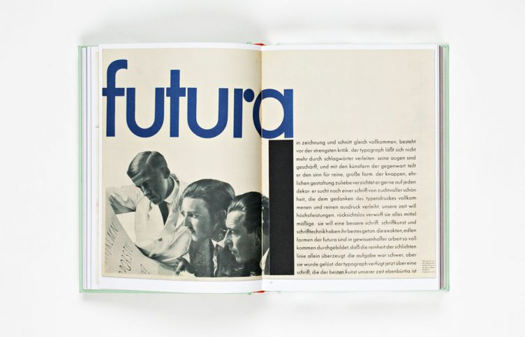 Futura - The Typeface Spread 004