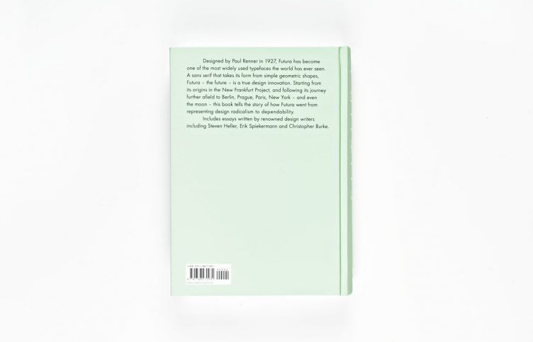 Futura - The Typeface Back Cover 006