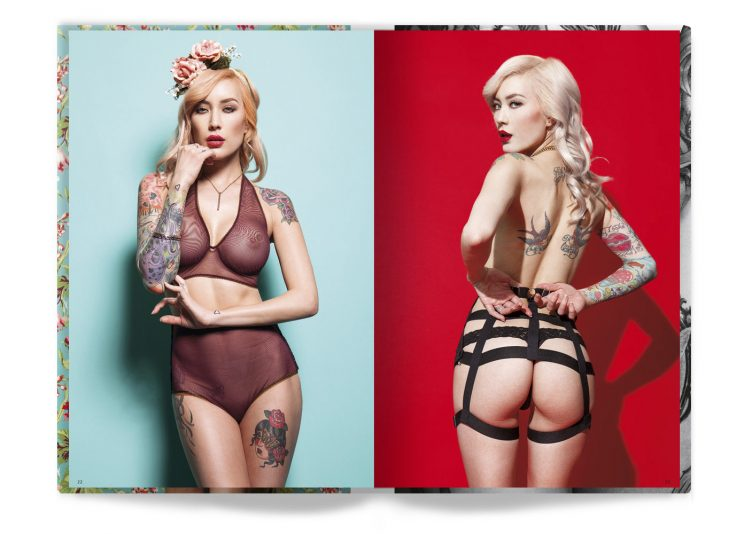 Tattooed Beauties Photographed by Christian Saint Spread 007