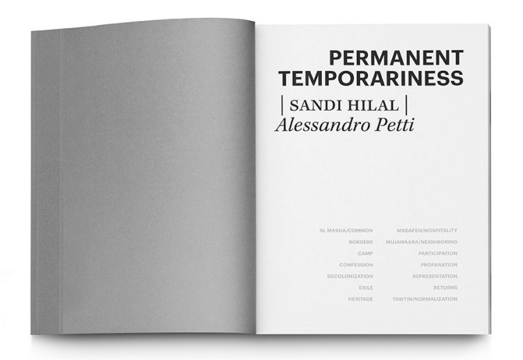 Permanent Temporariness 004