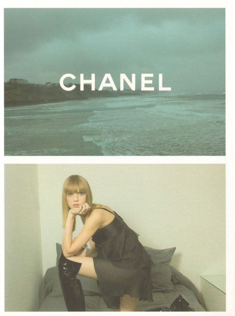Angela Lindvall for Chanel by Karl Lagerfeld, Fall / Winter 2001 003