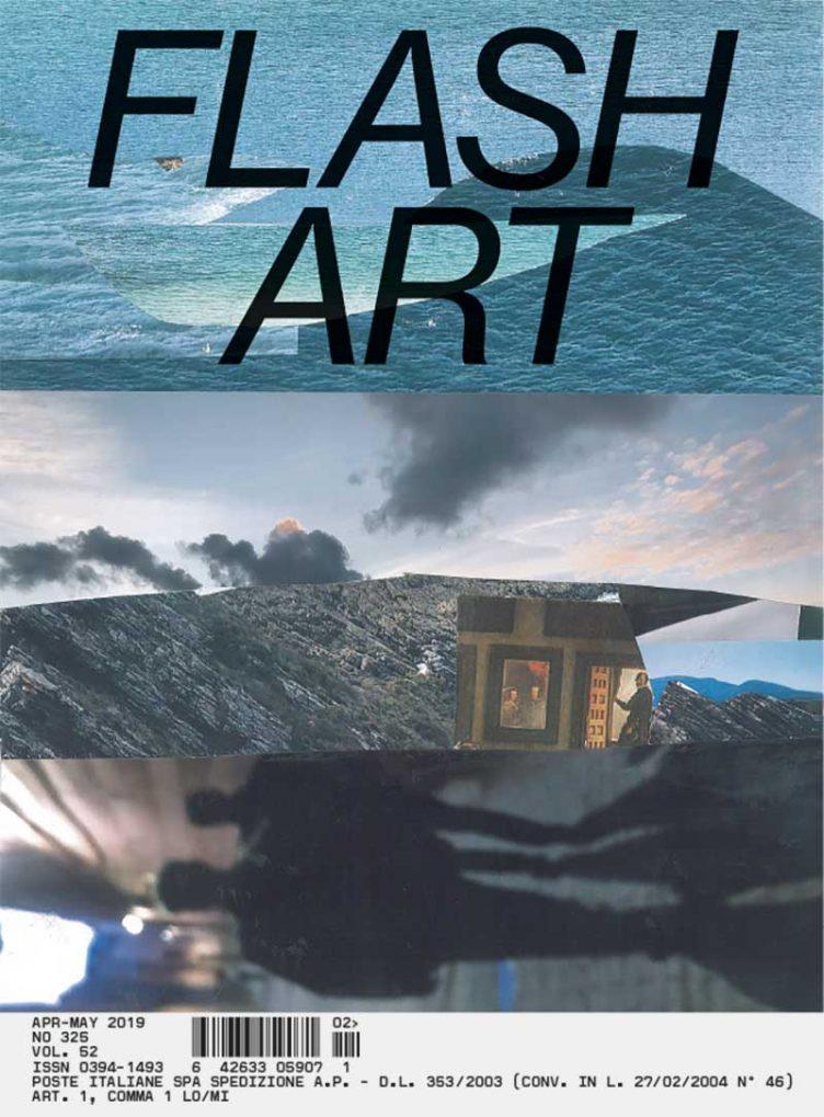 Flash Art #325 April – May 2019 Cover