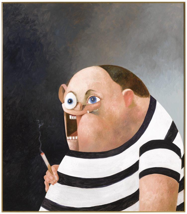 George Condo (American, b. 1957), Big John, 2006