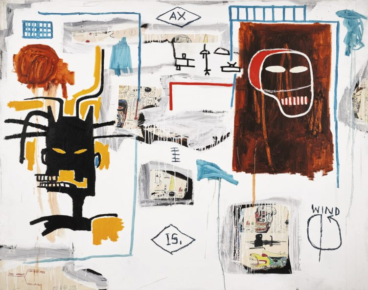 Jean-Michel Basquiat - Apex, 1986
