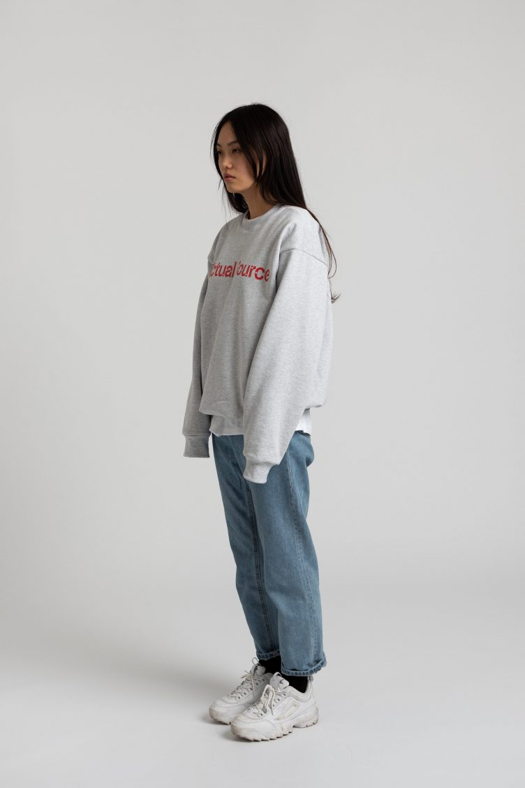 Anniversary Crew Neck - Actual Source × Ghostly 002