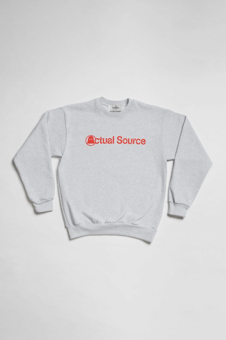 Anniversary Crew Neck - Actual Source × Ghostly 011