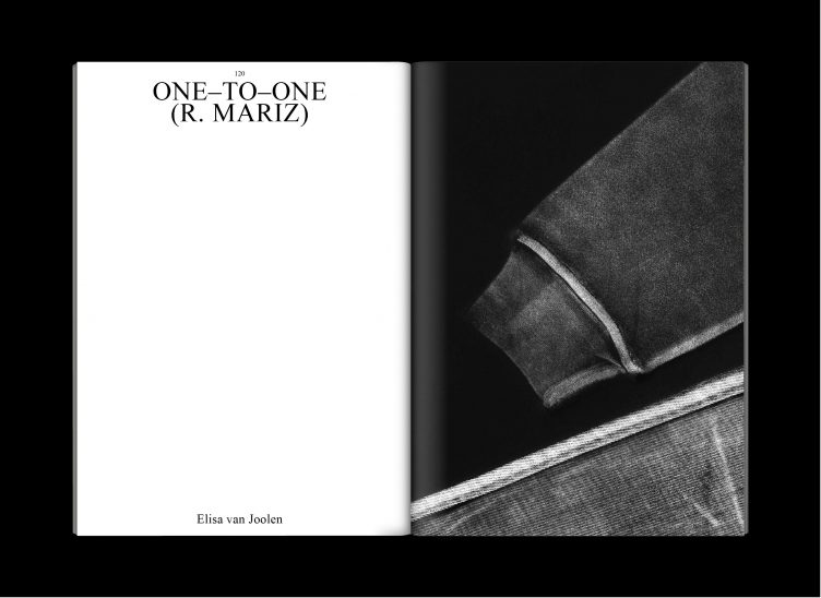 Elisa van Joolen One to One R. Mariz in Press & Fold 0 - The Street 2018