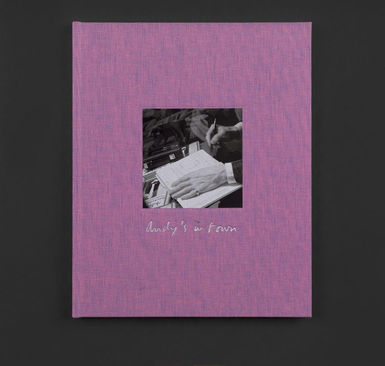 Marc Camille Chaimowicz, Andy's in Town (signed limited edition publication), 2019 Cover