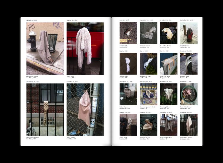 Ruby Hoette Lost Collected in Press & Fold 0 - The Street 2018