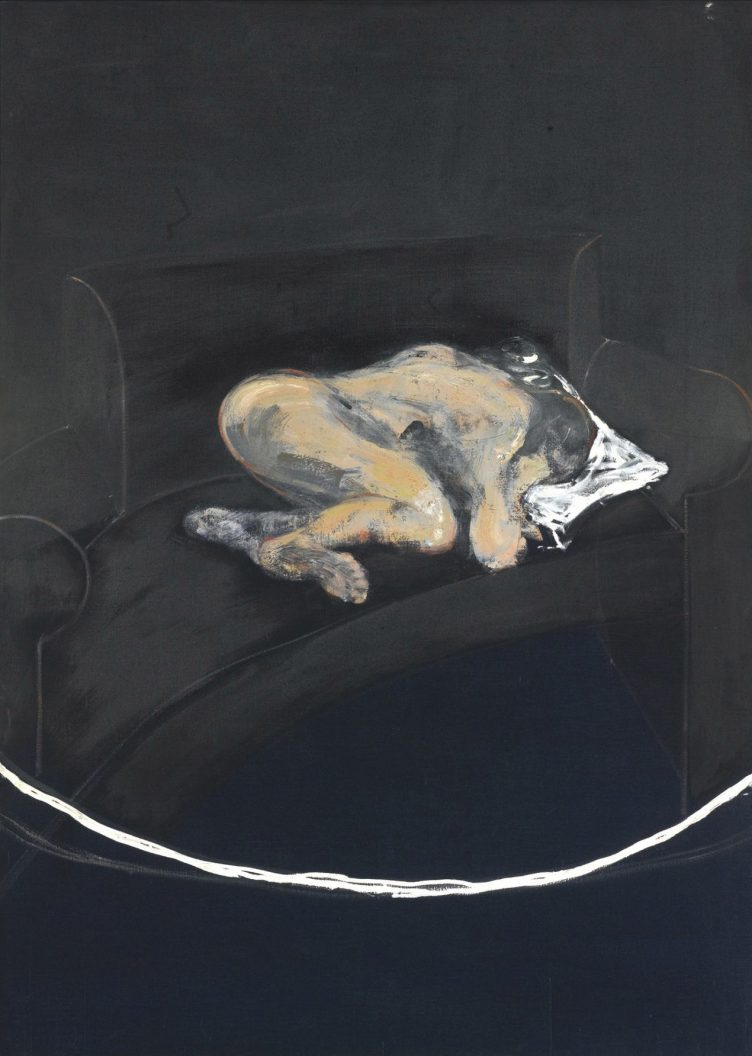 Francis Bacon - Study For Portrait of P.L. No. 1 (1957)