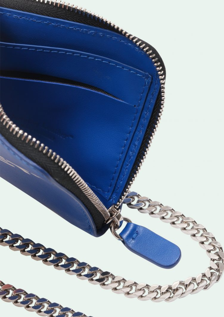 Off-White™ Blue Quote Coin Purse 003