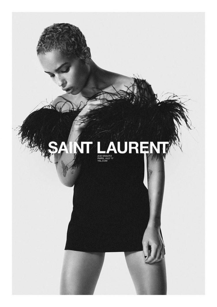 Saint Laurent Spring 2018 Ad Campaign 04