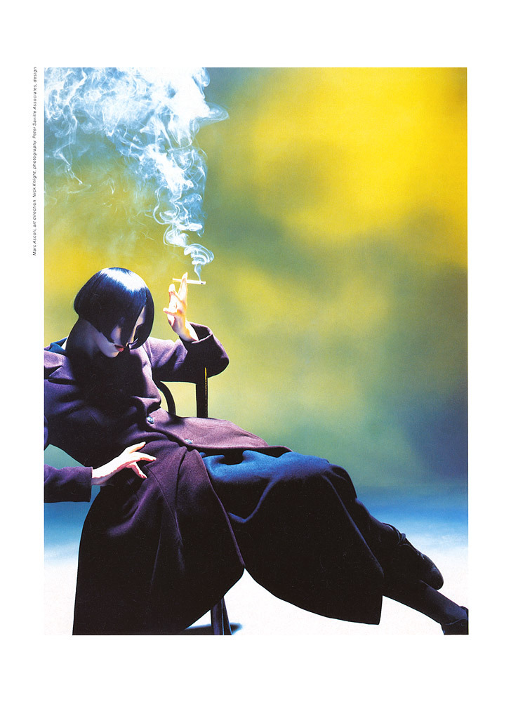 Yohji Yamamoto Fall Winter 1988 by Nick Knight  001