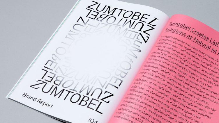 Zumbtobel Annual Report by Sagmeister & Walsh 006