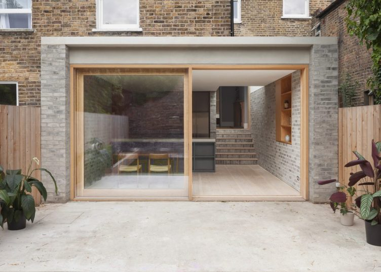 Private House, Stoke Newington, London by Al-Jawad Pike 001