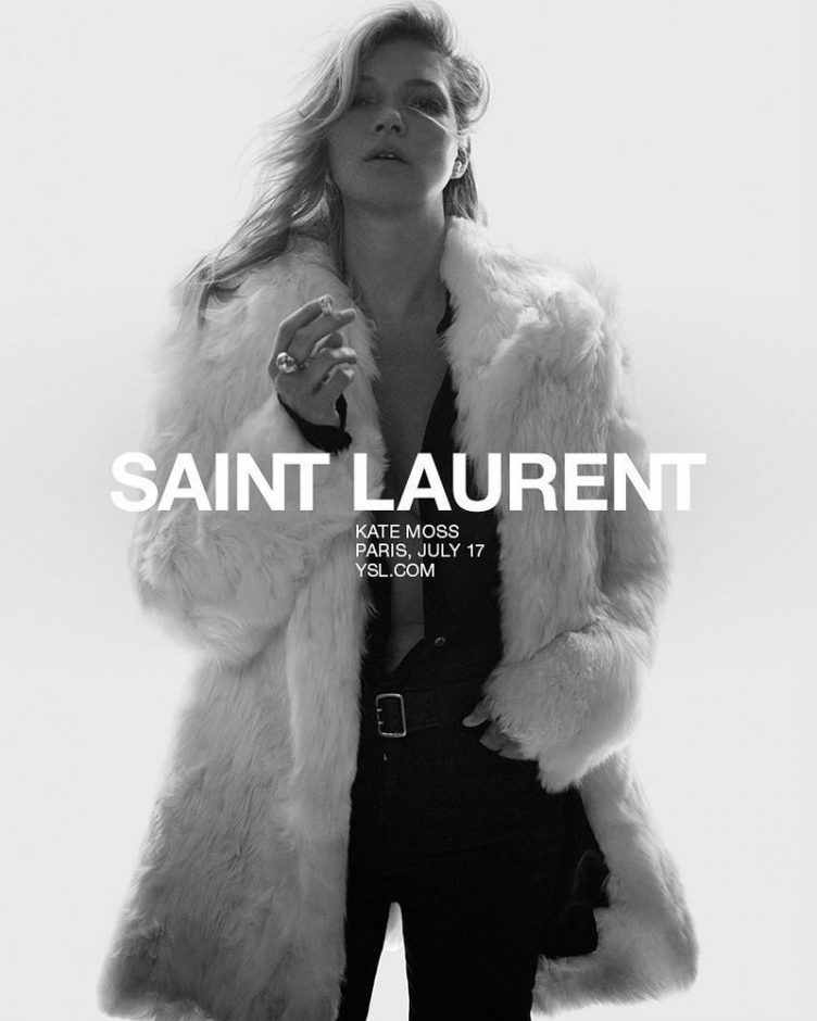 Saint Laurent SS18 Campaign 001