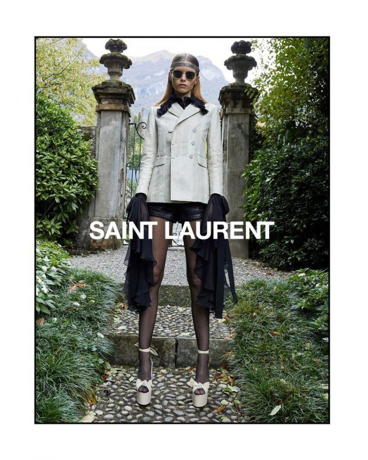 Saint Laurent Spring/Summer 2019 by Juergen Teller 002