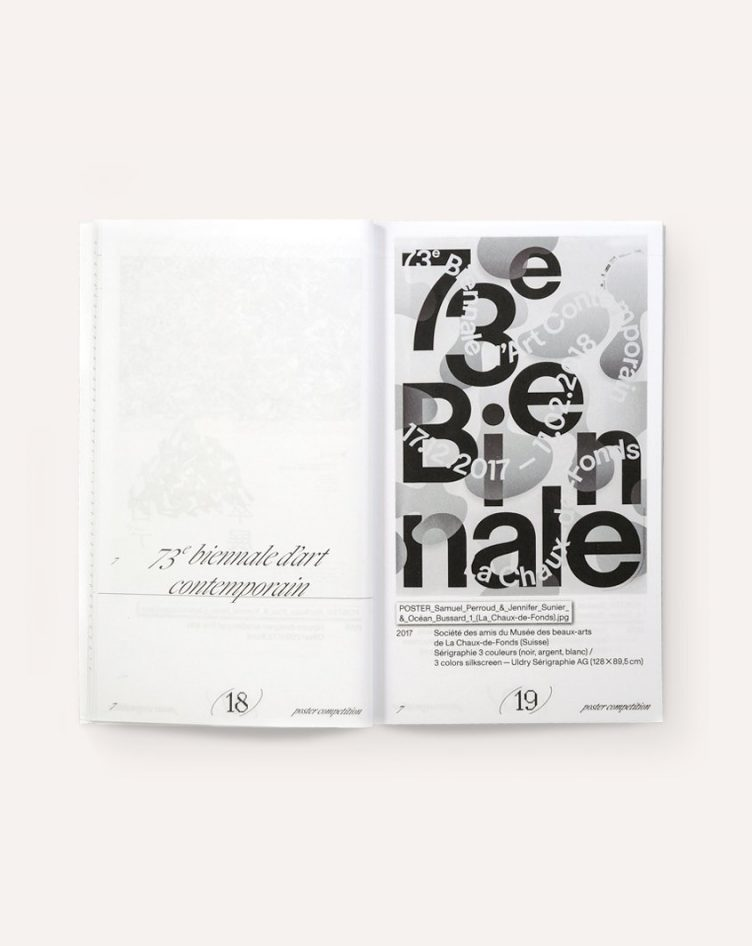 Post Medium: Catalogue for the 2019 Chaumont Graphic Design International Biennale Spread 003