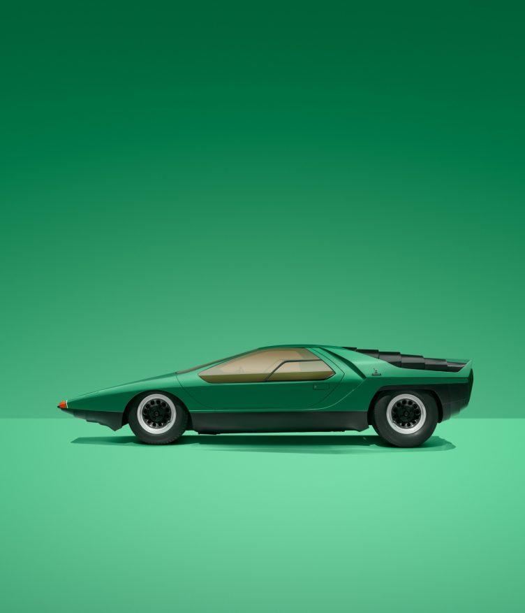 Alfa Romeo Carabo - Marcello Gandini - Bertone, 1968 002