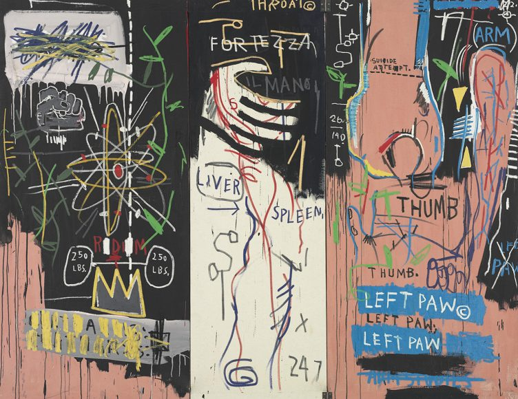 Jean-Michel Basquiat - Catharsis, 1983