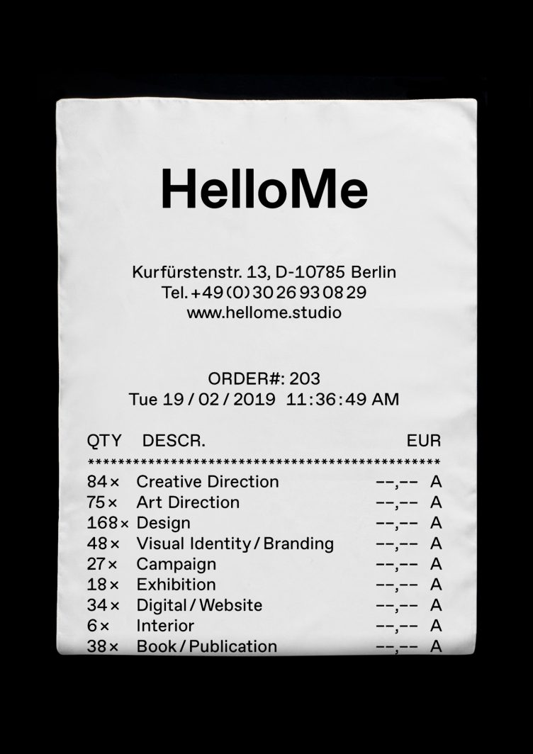 Receipt Scarf by HelloMe + Actual Source 002