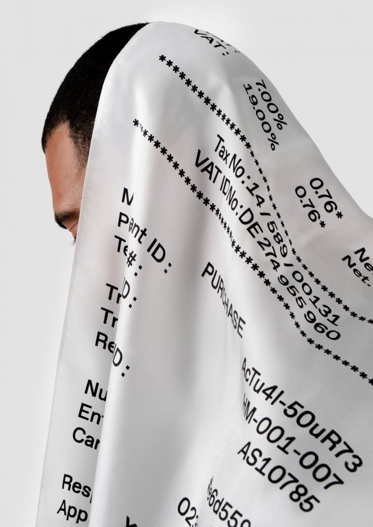 Receipt Scarf by HelloMe + Actual Source 011