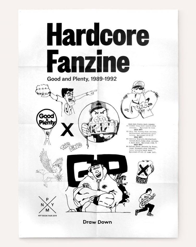 Hardcore Fanzine: NYABF Poster (2019) 001