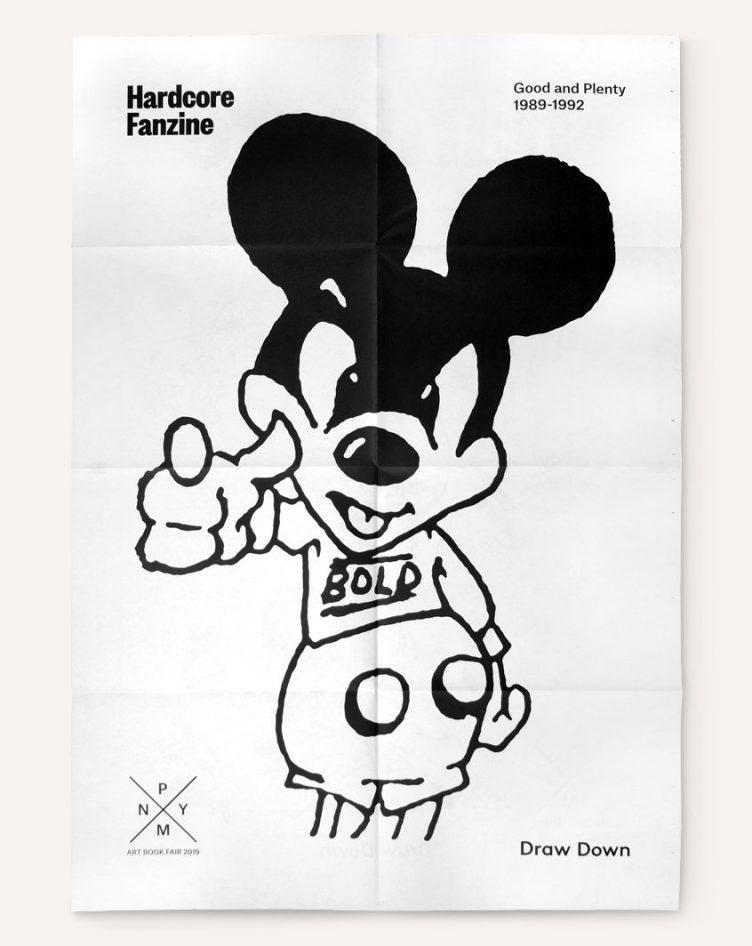 Hardcore Fanzine: NYABF Poster (2019) 002
