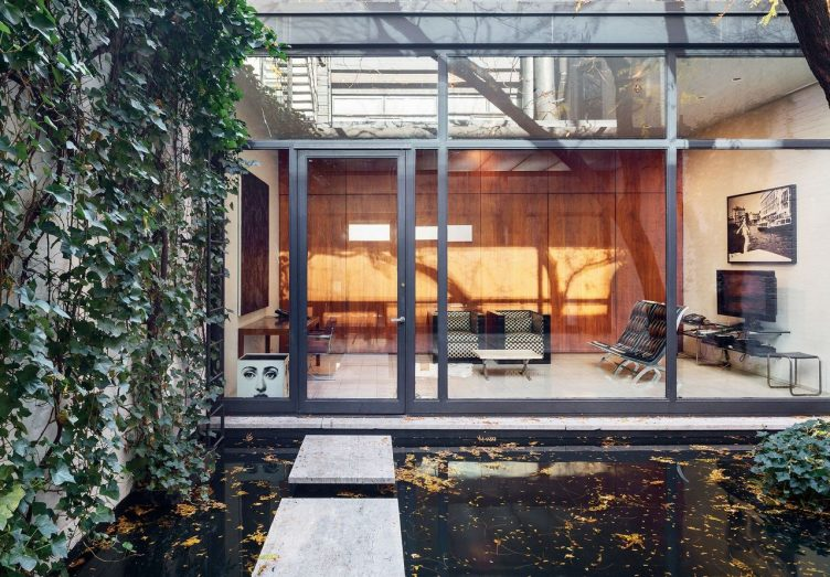Rockefeller Guest House by Philip Johnson 001