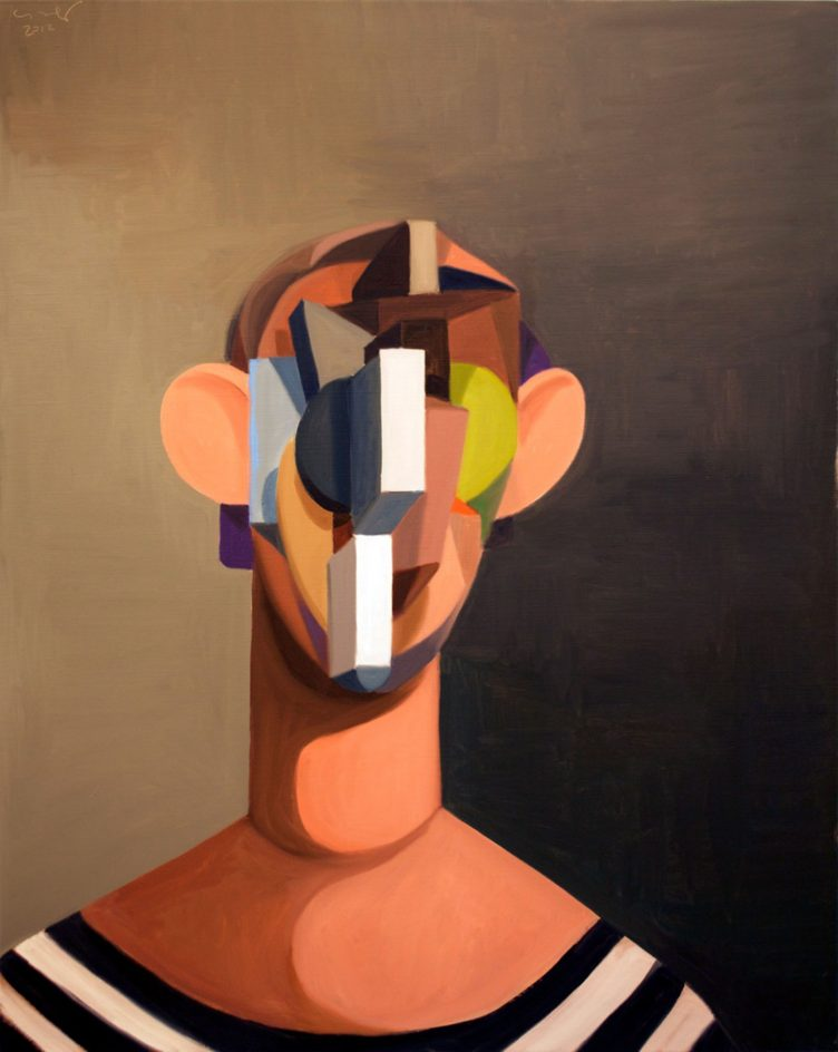 The Young Sailor, George Condo, 2012
