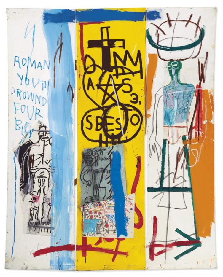 Jean-Michel Basquiat, Four Big, 1982