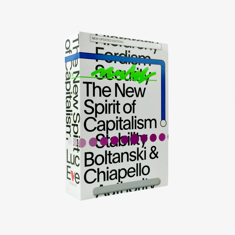 The New Spirit of Capitalism Cover