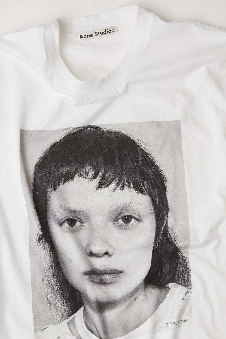 Acne Studios Campaign T-shirt Sara Hiromi 002