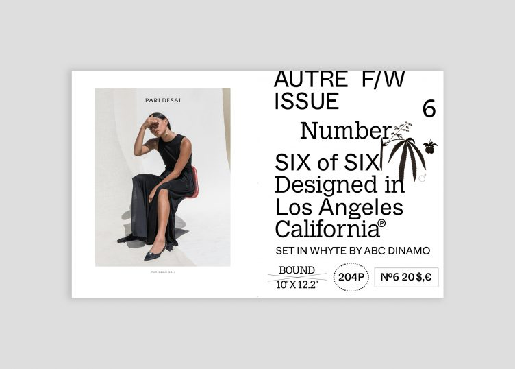 Autre Magazine Issue 06 Spread 002
