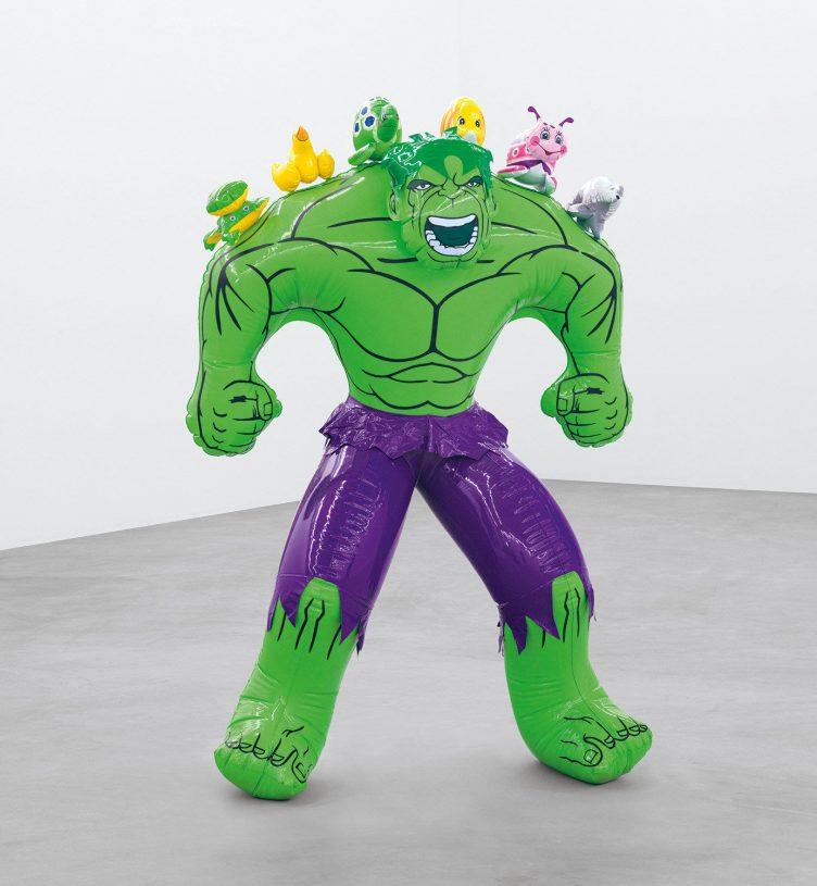 Hulk (Friends), Jeff Koons, 2004-2012