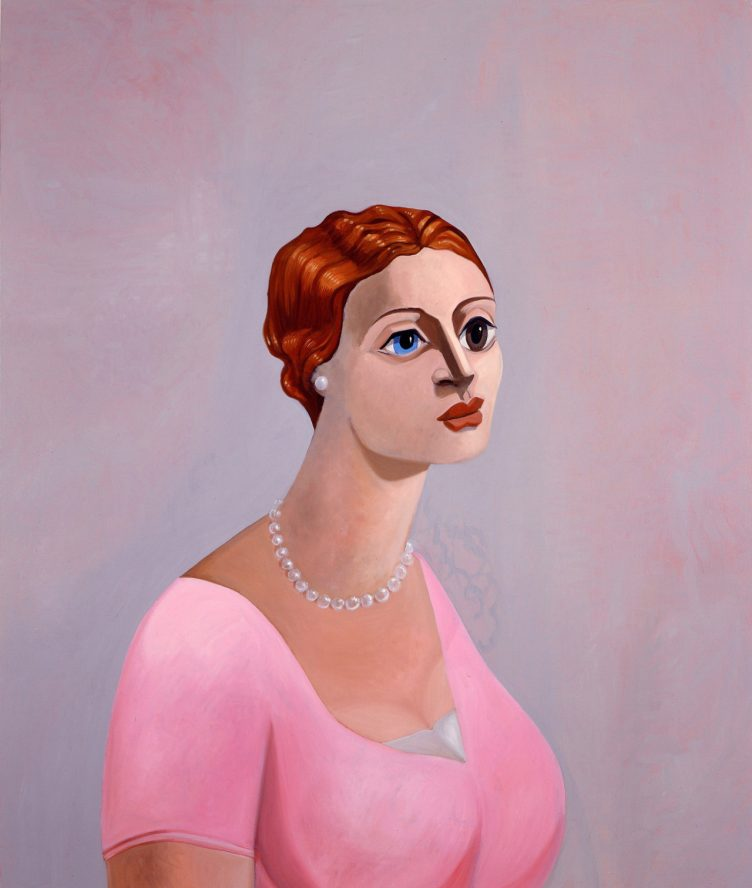 Portrait of a Woman, 2002, George Condo