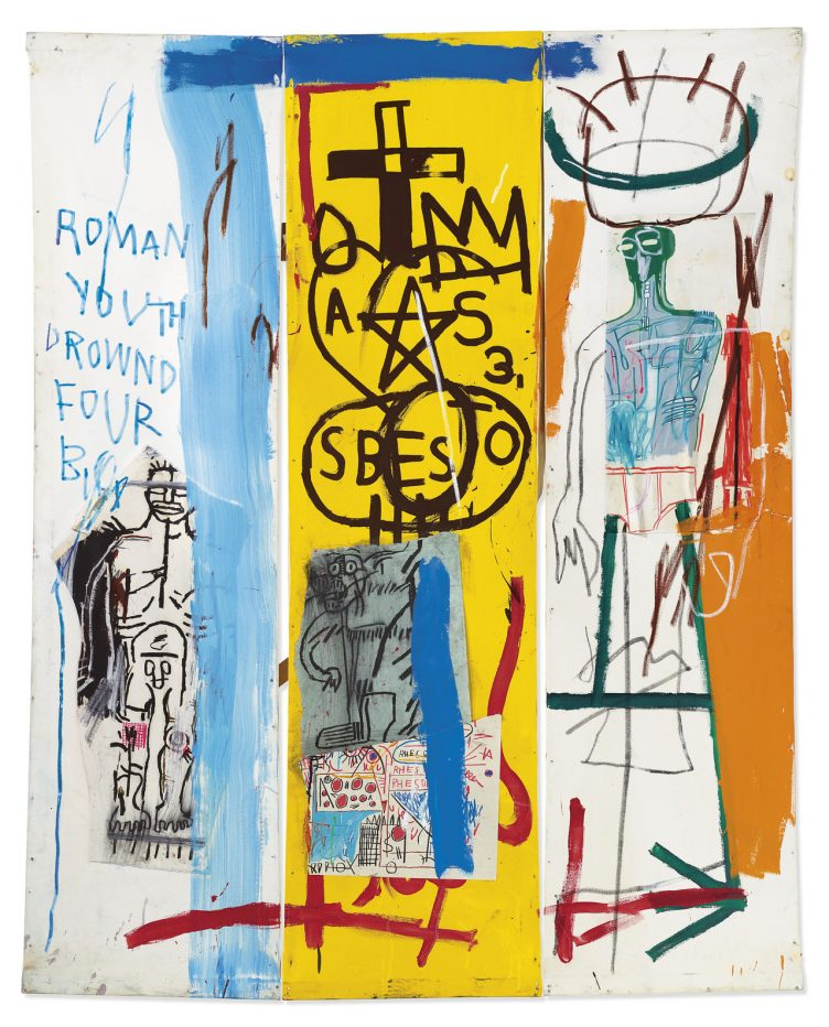 Jean-Michel Basquiat – Four Big, 1982