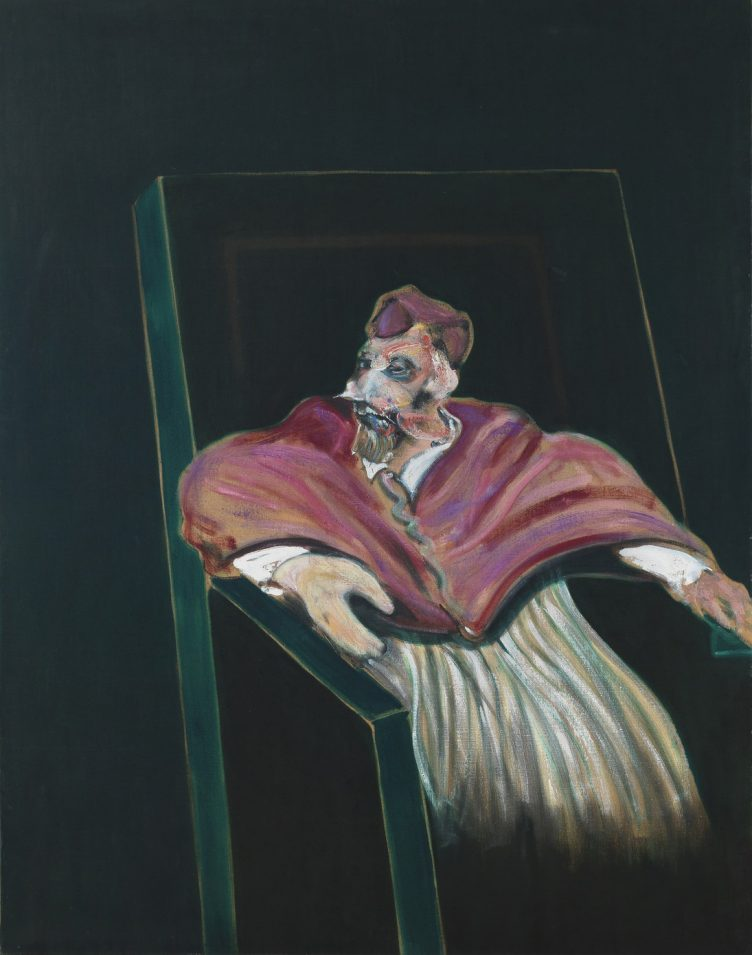 Study for a Pope III, 1961, Francis Bacon