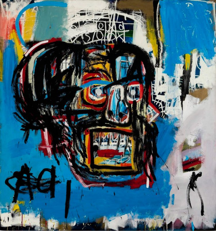 Untitled, 1982, Jean-Michel Basquiat
