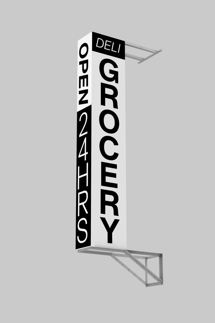 New York Shop Signs - Syndicat Grotesk 002