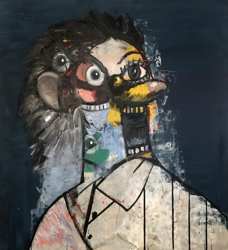 George Condo, The Day I Went Insane, 2019