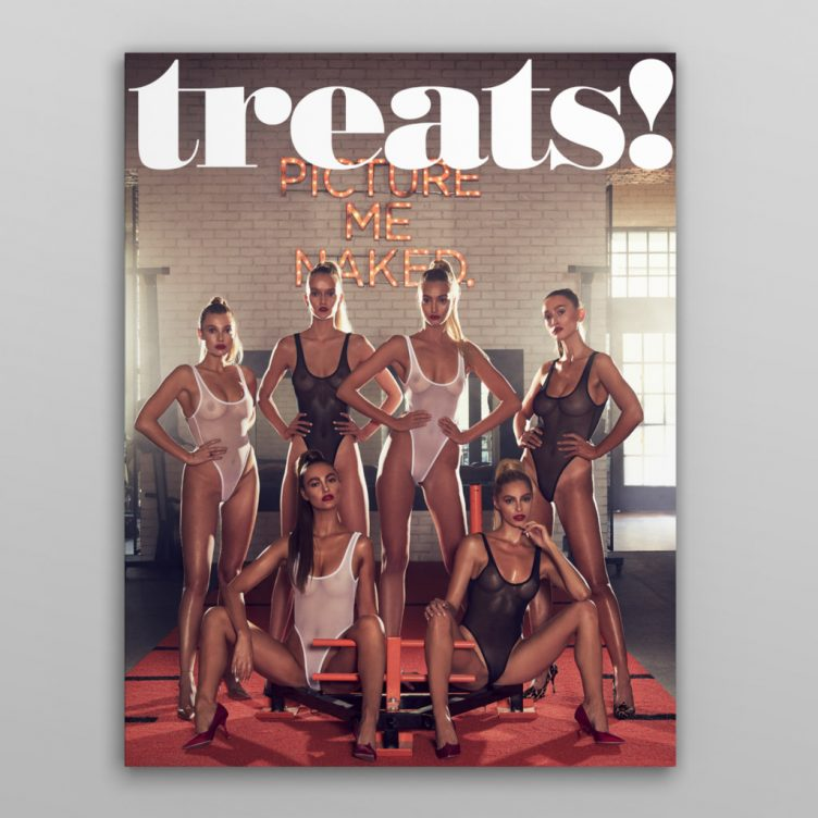 Treats! Issue 13 Cover by Steve Shaw 001