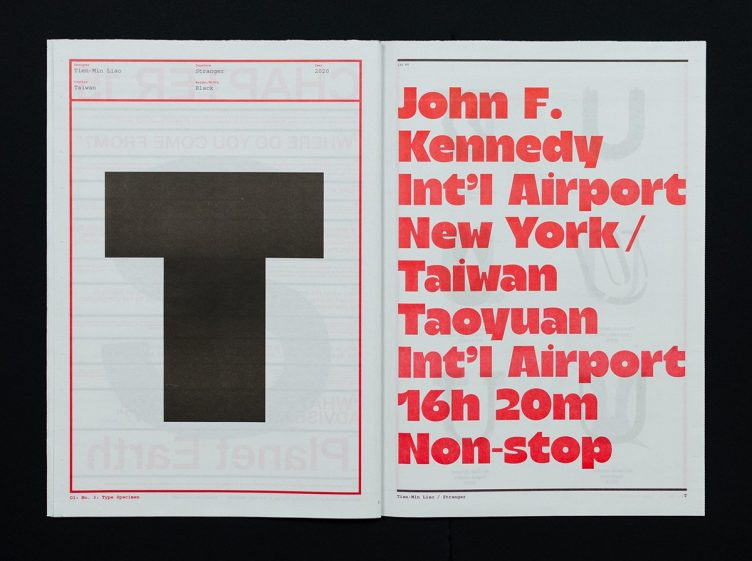 O1 Magazine, No. 03: Type Specimen 006