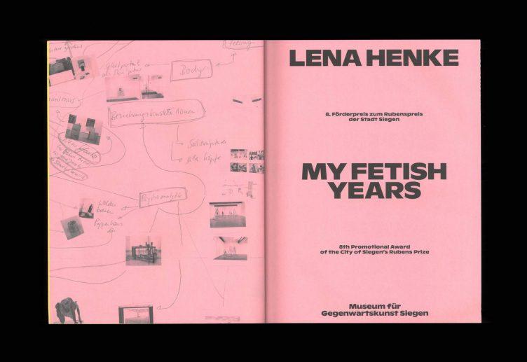 Lena Henke - My Fetish Years Spreads 002