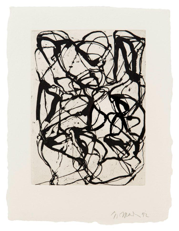 Brice Marden, Han Shan Exit, 1992